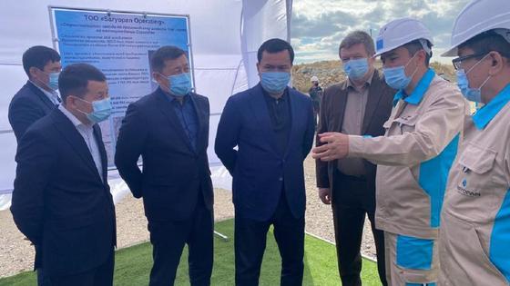 В Осакаровском районе приступили к строительству завода