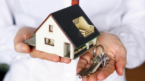Модель дома и ключи
