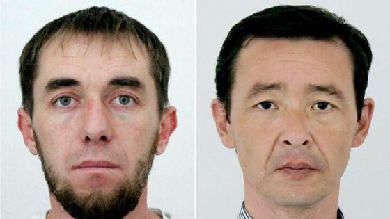 Подозреваемые в грабежах в Алматы