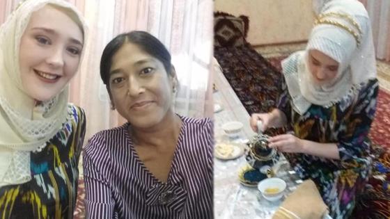 Британка Джейн, вышедшая замуж за узбека