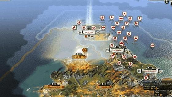 кадр из игры стратегии