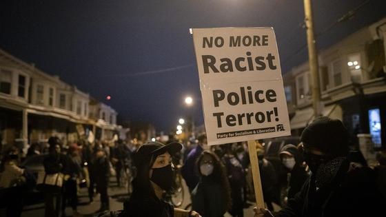 Протесты в Филадельфии
