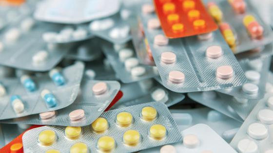 Блистеры с таблетками