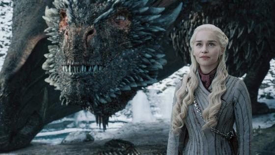 Дейенерис Таргариен и дракон