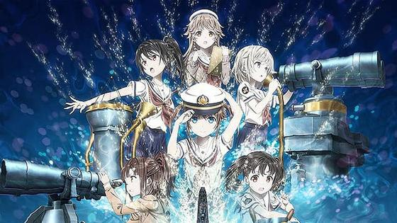 Кадр из полнометражного аниме «Морская академия»