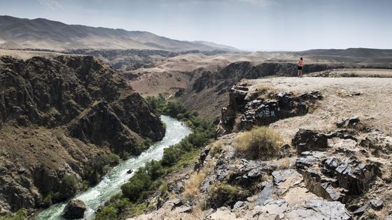 Река Чарын в Чарынском каньоне