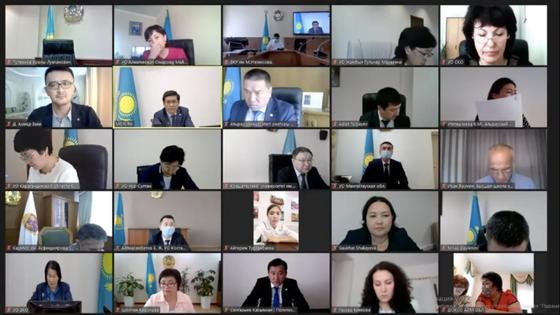 Августовская конференция педагогов Казахстана прошла онлайн