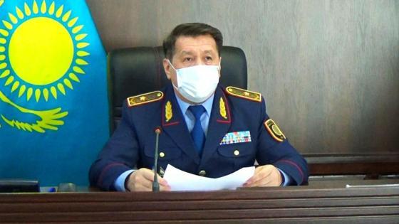 генерал-майор Жанат Сулейменов