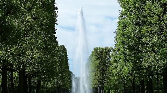фонтан в парке