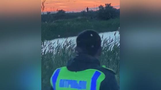 Парень заблудился в степи близ Экибастуза