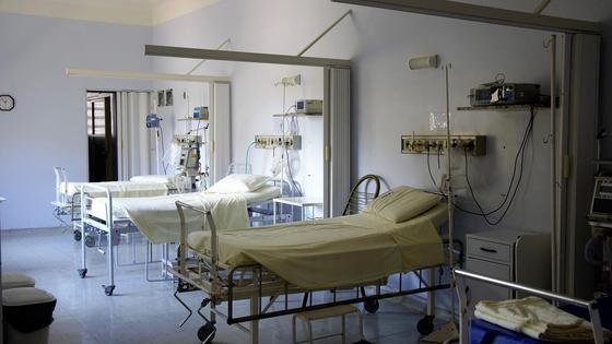 Пустые больничные койки