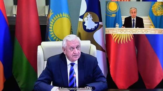 Тоқаев пен Мясникович