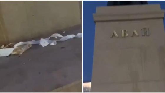 Памятник Абаю в Павлодаре