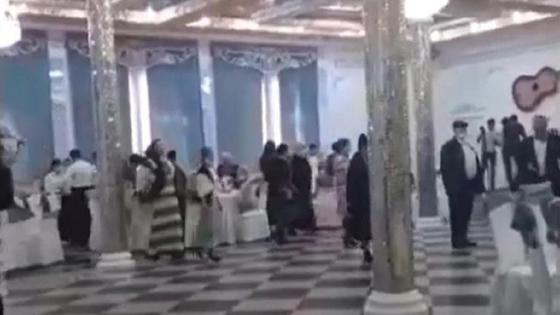 Свадьба в Актобе во время карантина