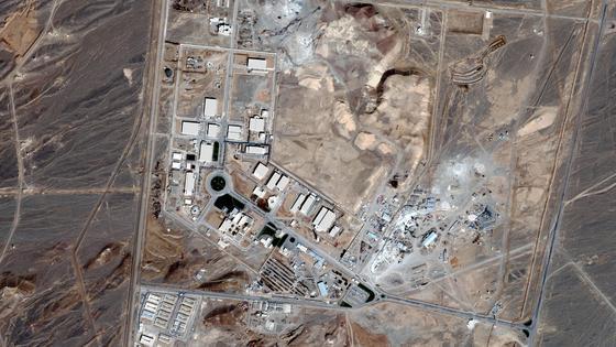 Завод в Иране В Натанзе