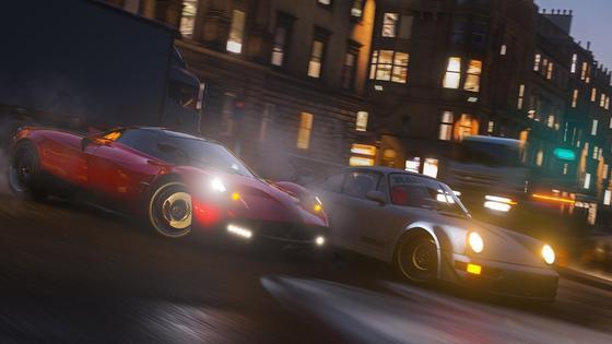 Кадр из игры Forza Horizon 4