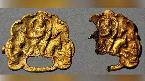 Золотые артефакты, найденные в ВКО