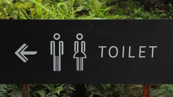 Знак туалета