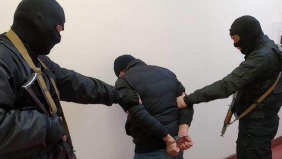 Задержание подозреваемого в хищении оружия под Шымкентом