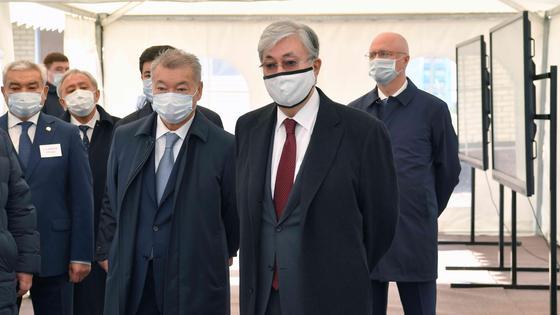 Касым-Жомарт Токаев и Даниал Ахметов