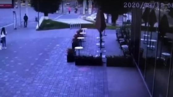 Машина сбила пешехода