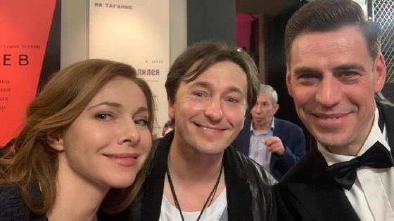 Сергей Безруков, Екатерина Гусева и Дмитрий Дюжев