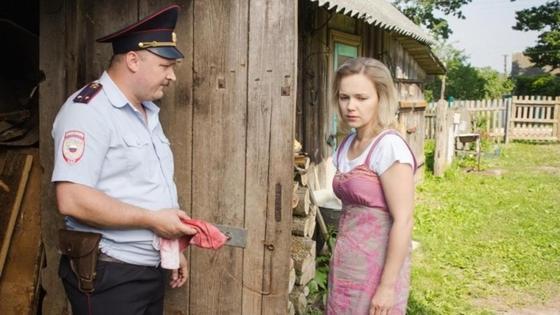 кадр из российской мелодрамы
