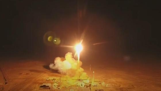 Ракета взлетает с космодрома
