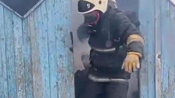 Пожар в доме в Актюбинской области