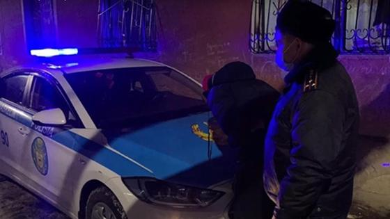 Полицейский задержал мужчину