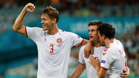 Дания пробилась в полуфинал Евро-2020