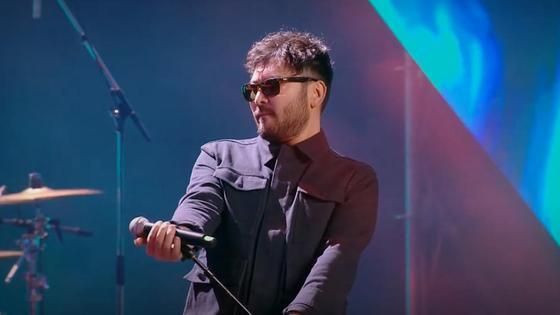 Галымжан Молданазар на сцене