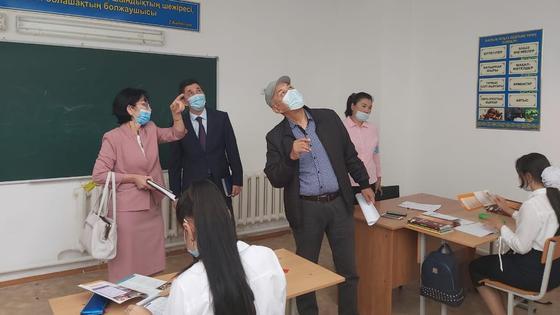 Окна и вентиляцию установят в школе в Атырауской области после вмешательства Nur Otan