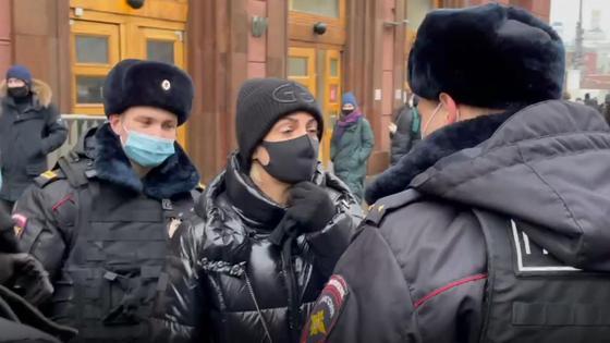 Задержание жены Навального