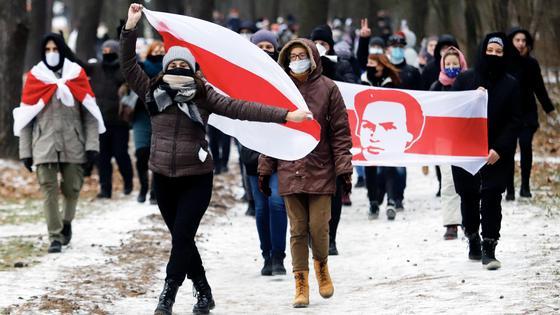 Протесты в Беларуси.