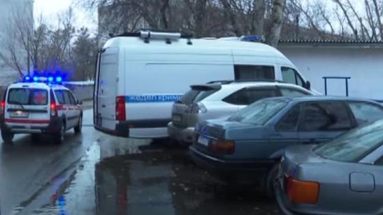 Двор, где жила семья в Павлодаре