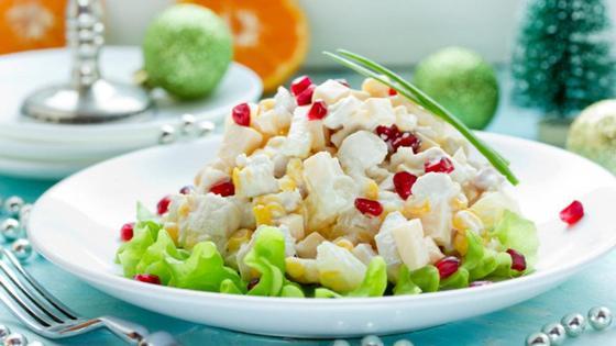 Романтический салат