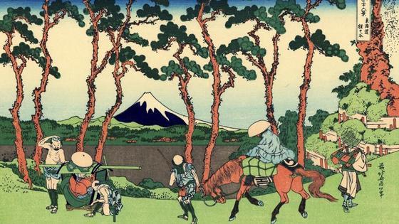 Японская картина