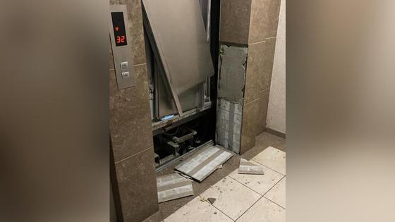 Лифт в ЖК в Нур-Султане