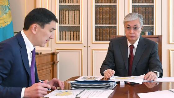 Токаев встретился с министром экологии