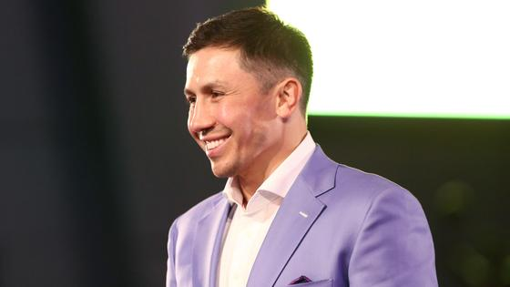 Геннадий Головкин в костюме