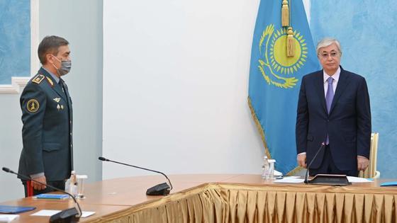 Нурлан Ермекбаев и Касым-Жомарт Токаев