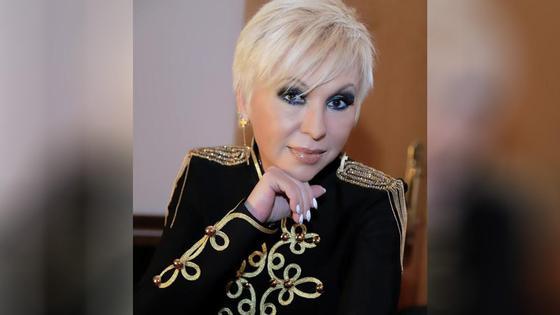 Российская певица Валентина Легкоступова