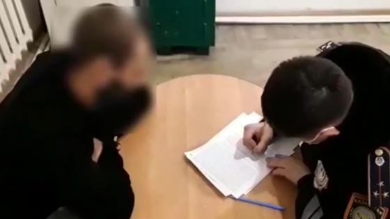 Задержание пьяного водителя в Павлодаре