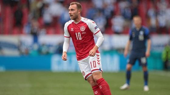 Футболист Кристиан Эриксен
