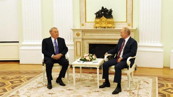 Назарбаев пен Путин