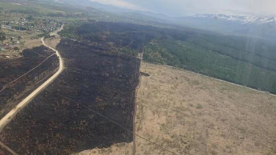 Последствия пожара в ВКО