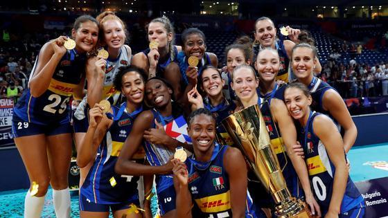 Женская сборная Италии по волейболу