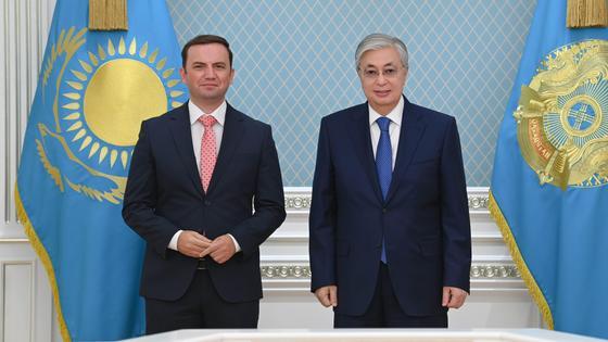 Касым-Жомарт Токаев и Буяр Османи