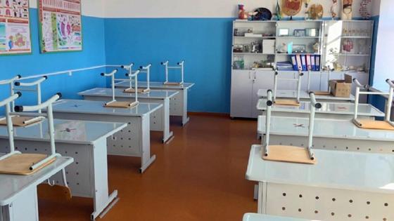 Пустой школьный кабинет
